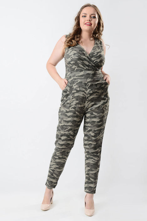 Off duty casual jumpsuit