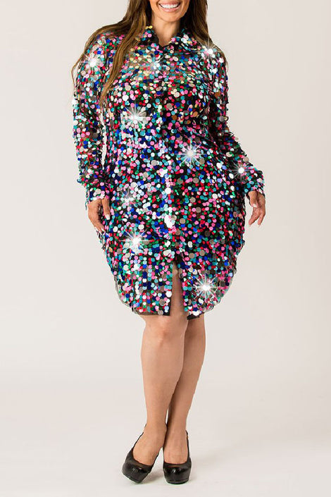 Party Babe Sequin Dress