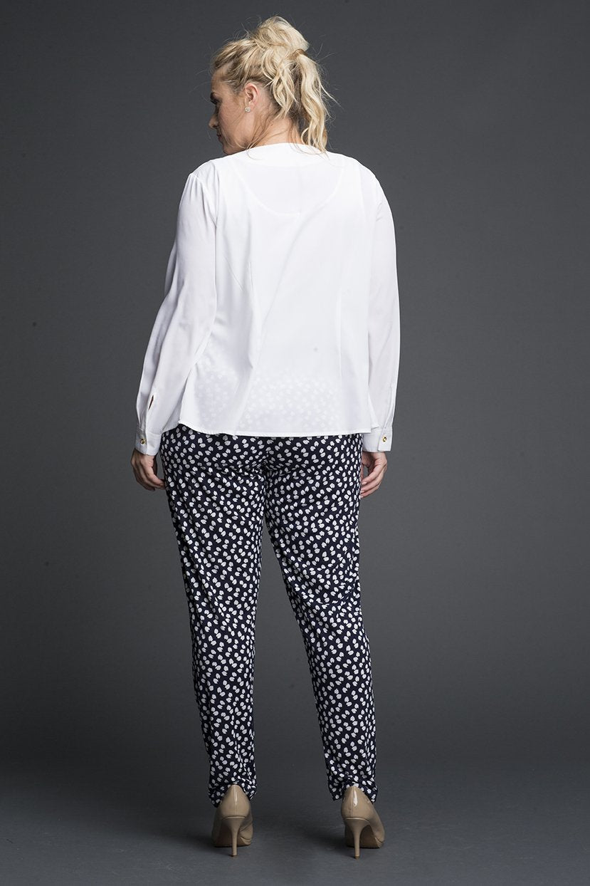 Printed Straight cut Jersey Pants