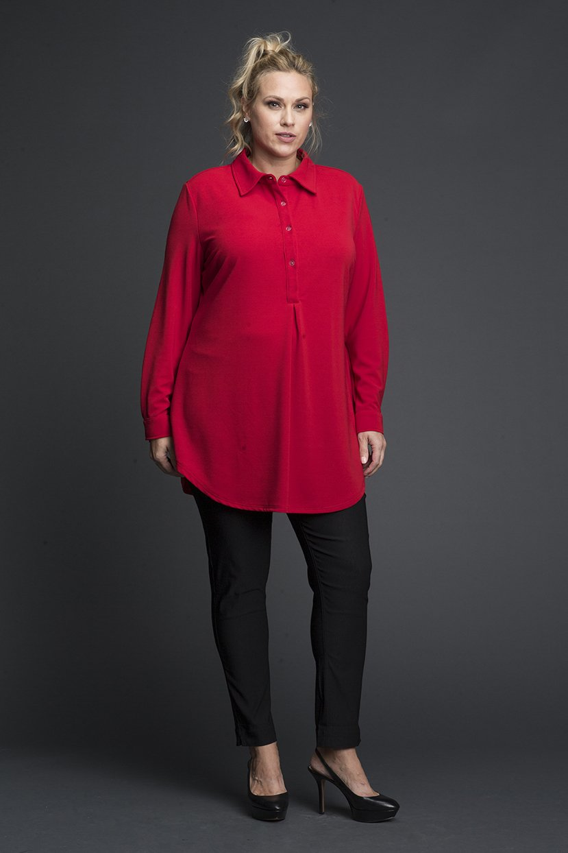 Full Sleeves Viscose Shirt Tunic