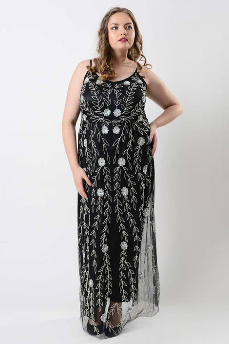 The Lady In Dazzle Maxi Dress