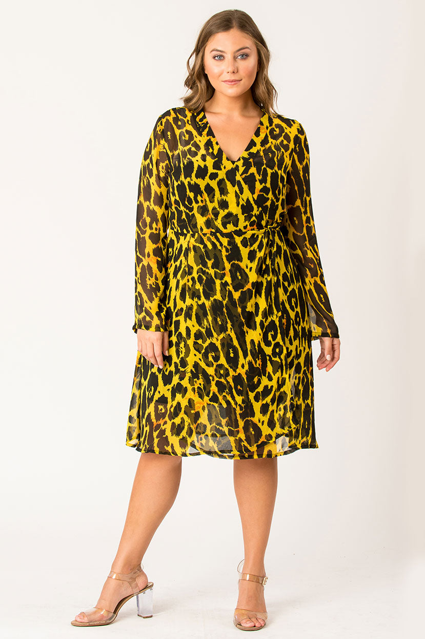 Wild Ace Printed Dress
