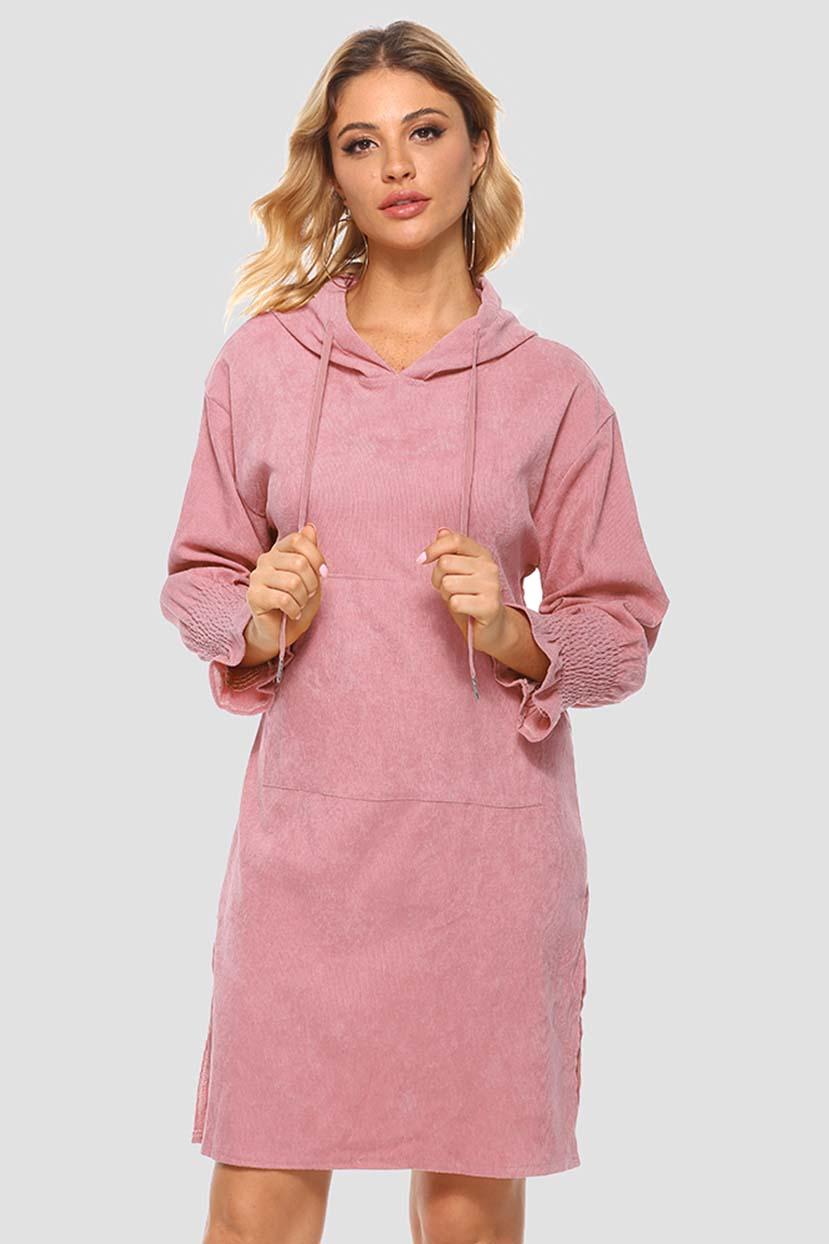 Straight Tunic Sweater Dress
