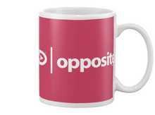 Digster Opposite Position 01 Beverage Mug