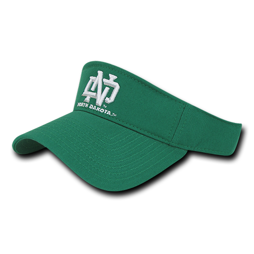 ION College University of North Dakota Dedication Visor - by W Republic