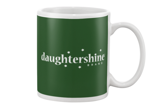 Daughtershine Brand Logo White Beverage Mug