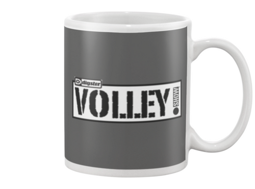 Digster Volley Show™ Logo Beverage Mug