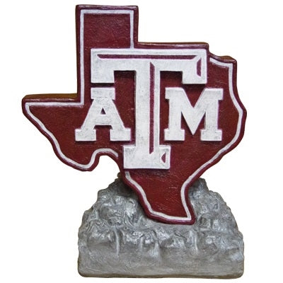 ION College Texas A&M University Lone Star Logo Stone Mascot