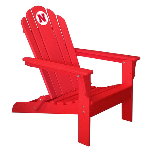 ION Furniture University of Nebraska Folding Adirondack Chair