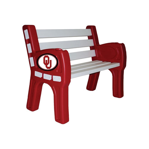 ION Furniture University of Oklahoma Park Bench