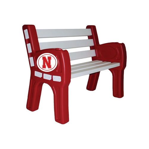 ION Furniture University of Nebraska Park Bench