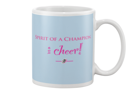 I CHEER Spirit Of A Champion Beverage Mug