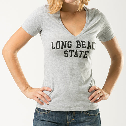 ION College California State University Long Beach Gamation Women's Tee - by W Republic