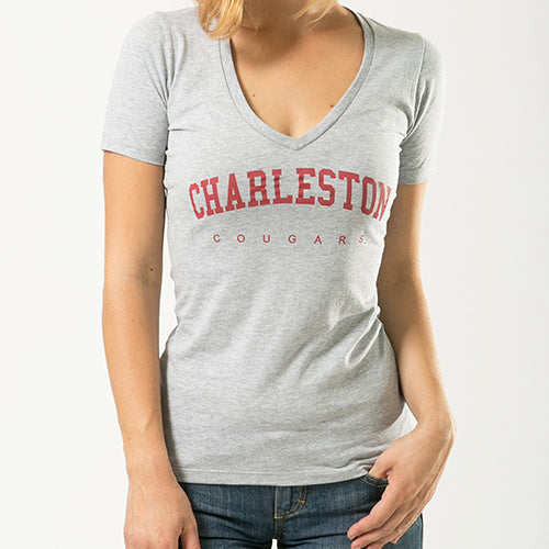 ION College College of Charleston Gamation Women's Tee - by W Republic