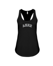 Family Famous Aker Carch Ladies Racerback Tank