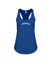 Family Famous Anderson Carch Ladies Racerback Tank