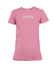 Family Famous Barber Carch Ladies Tee