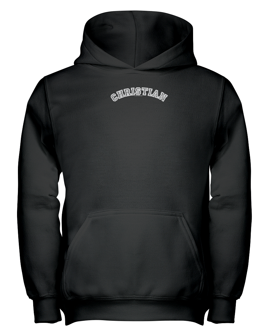 Family Famous Christian Carch Youth Hoodie