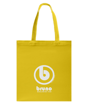 Bruno Authentic Circle Vibe Canvas Shopping Tote