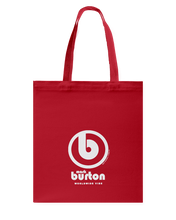 Burton Authentic Circle Vibe Canvas Shopping Tote