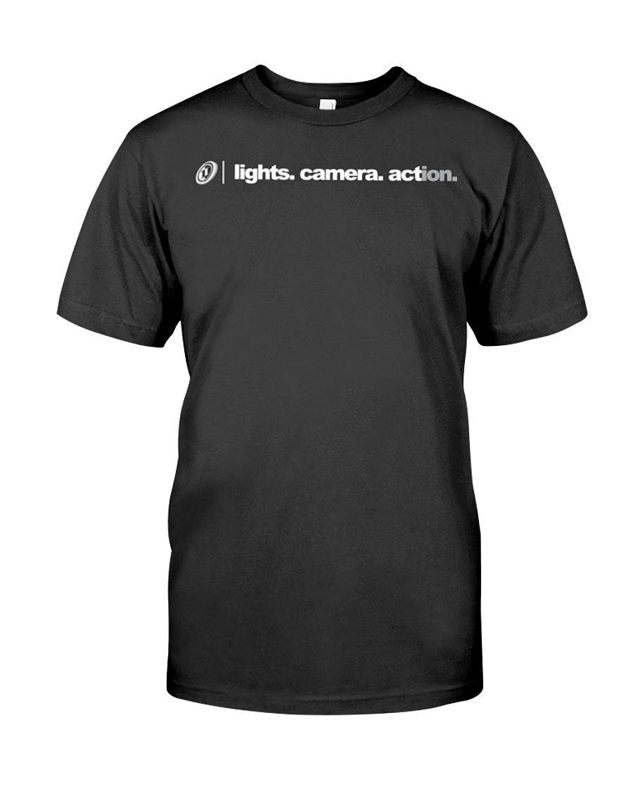 ION Lights Camera Action Word 01 Tee