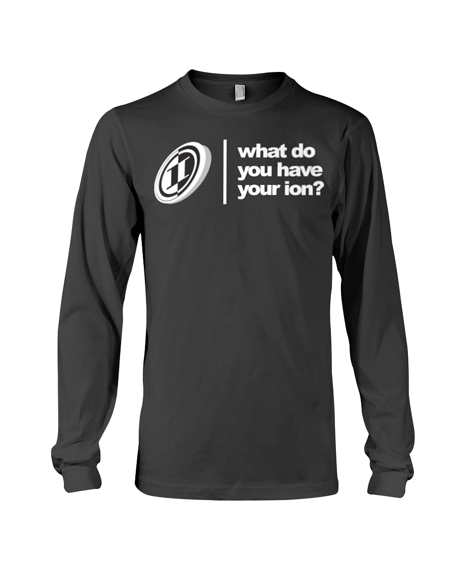 ION Wdyhyion Logo Long Sleeve Tee