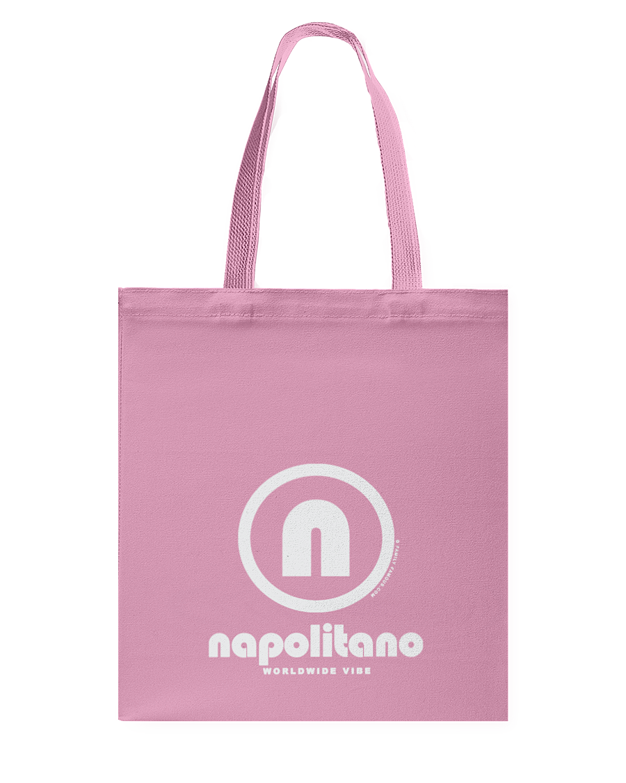Napolitano Authentic Circle Vibe Canvas Shopping Tote