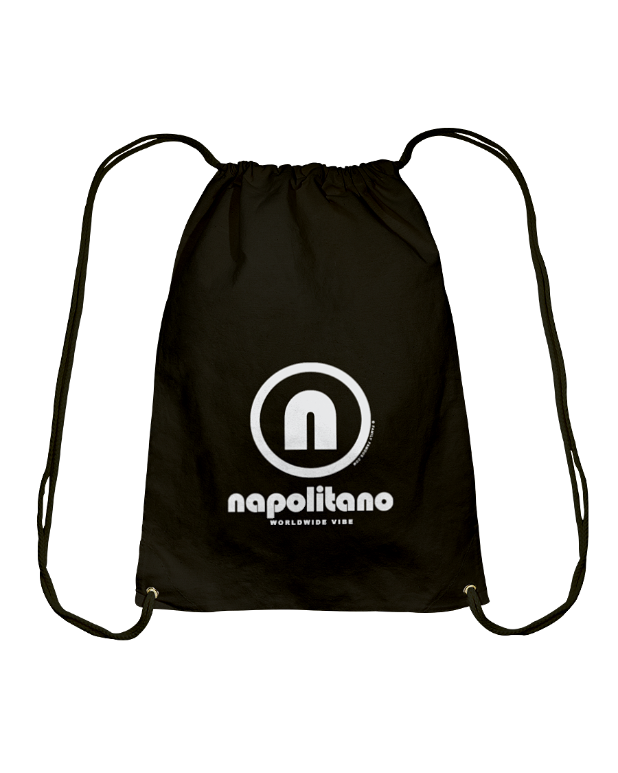 Napolitano Authentic Circle Vibe Cotton Drawstring Backpack