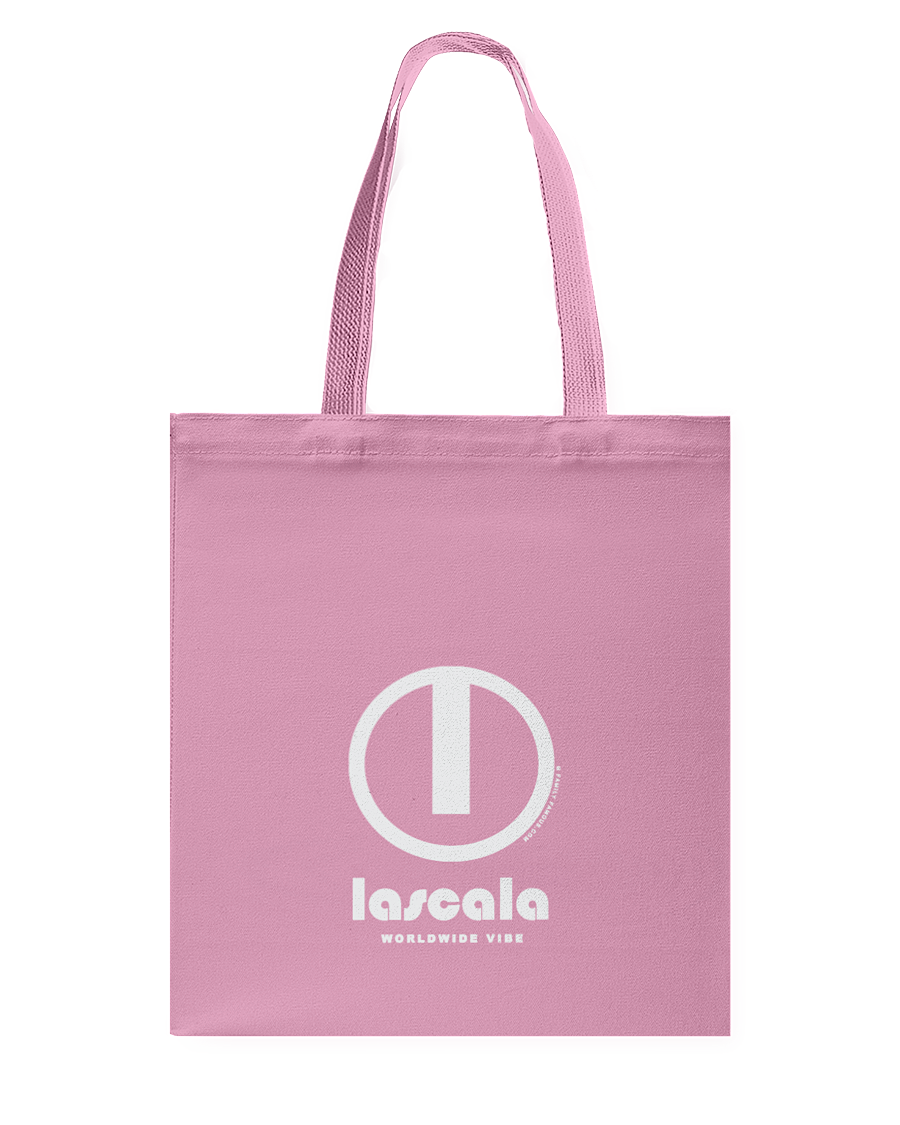 LaScala Authentic Circle Vibe Canvas Shopping Tote