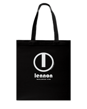 Lennon Authentic Circle Vibe Canvas Shopping Tote