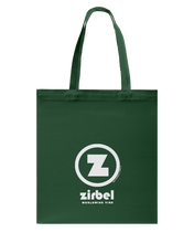 Zirbel Authentic Circle Vibe Canvas Shopping Tote