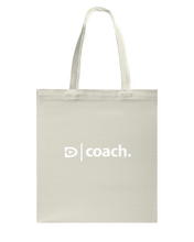 Digster Coach Position 01 Canvas Shopping Tote