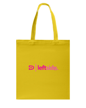 Digster Leftside Position 01 Canvas Shopping Tote