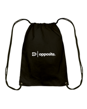 Digster Opposite Position 01 Cotton Drawstring Backpack