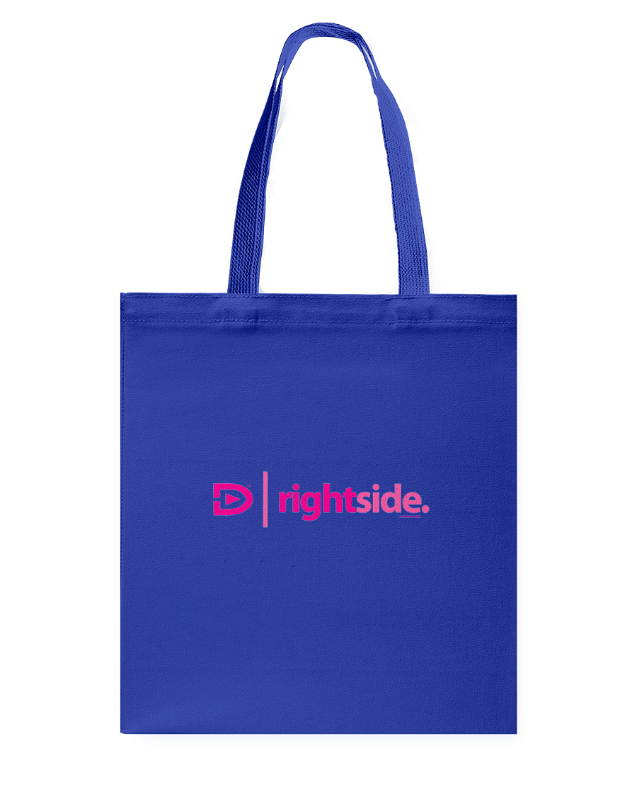 Digster Rightside Position 01 Canvas Shopping Tote