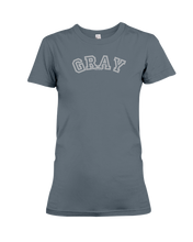 Gray Carch Ladies Tee