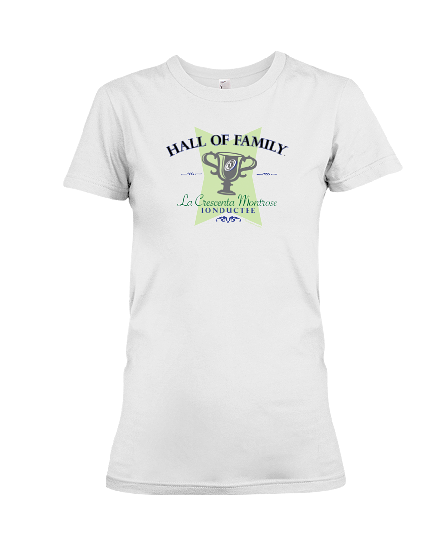 La Crescenta Montrose Hall of Family 01 Ladies Tee