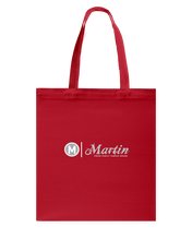 Martin Sketchsig Canvas Shopping Tote