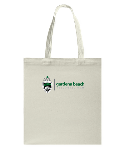 Gardena Beach AVL High School Canvas Shopping Tote