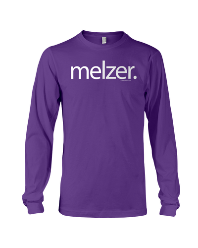 Melzer Letter Long Sleeve Tee