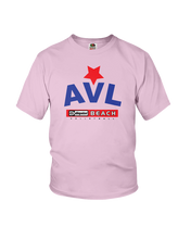 AVL Digster Beach Volleyball Logo Youth Tee