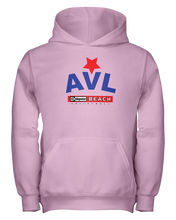 AVL Digster Beach Volleyball Logo Youth Hoodie