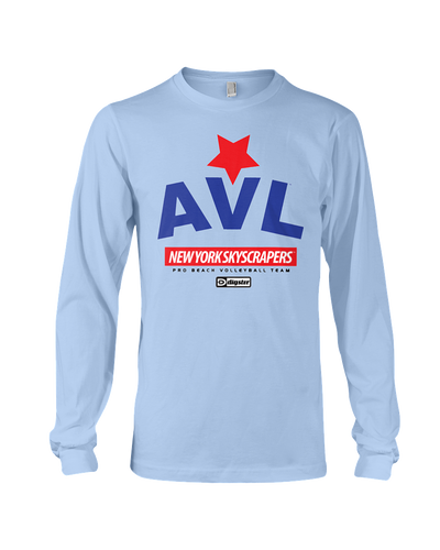 AVL Digster New York Skyscrapers Long Sleeve Tee