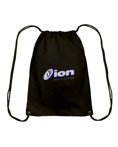 ION Sports Network Cotton Drawstring Backpack