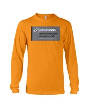 Admiration Behar Memes Long Sleeve Tee