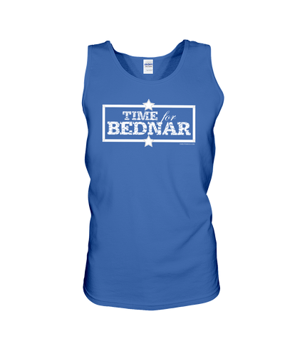 Time For Bednar Cotton Tank