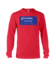 Ambition Behar Memes Long Sleeve Tee