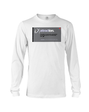 Attraction Behar Memes Long Sleeve Tee