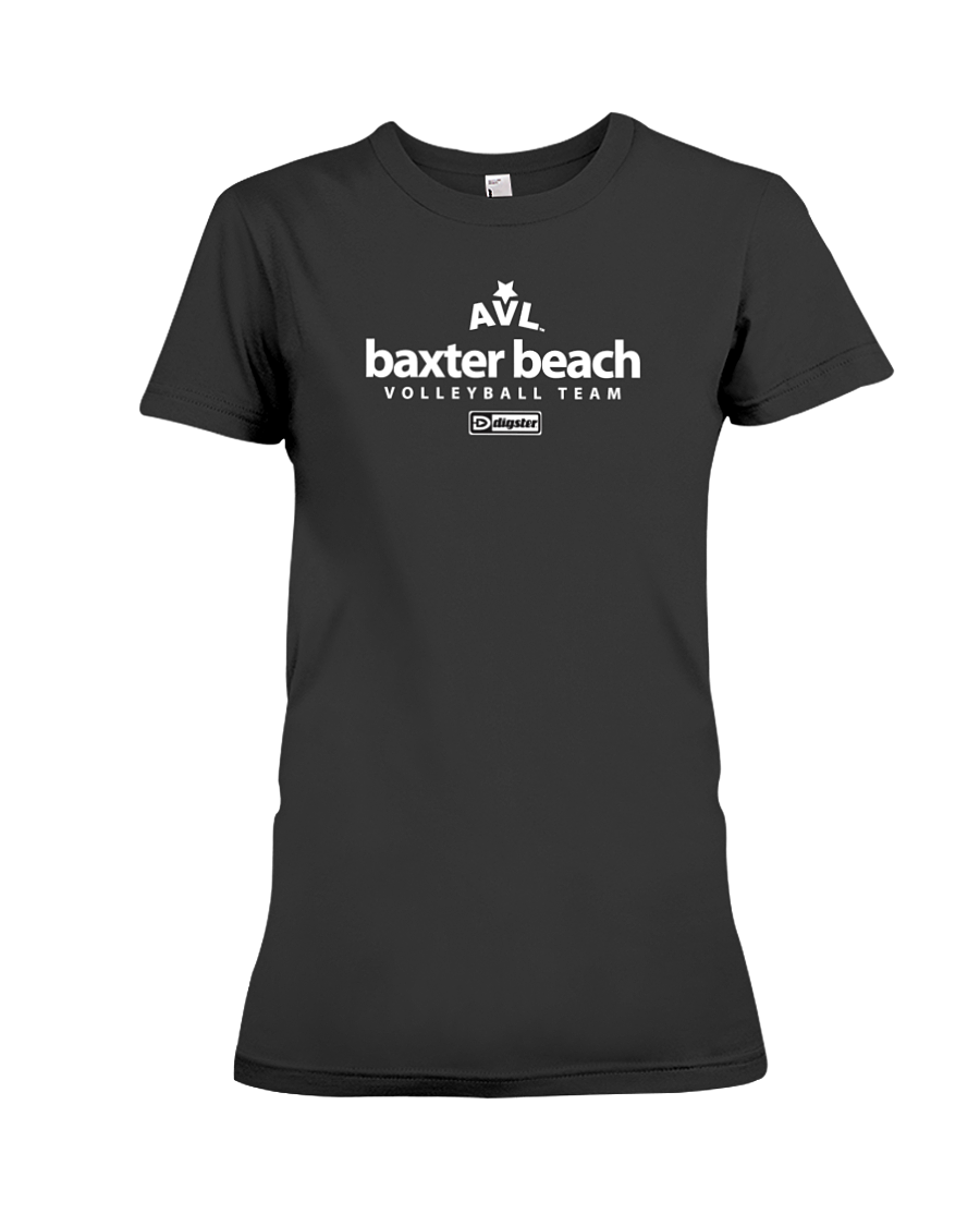 AVL Baxter Beach Volleyball Team Issue Ladies Tee