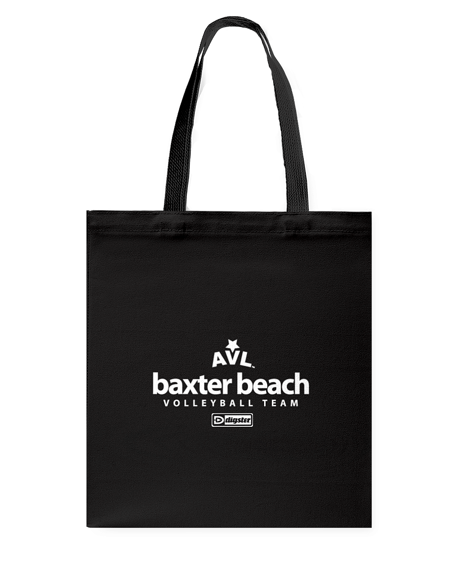 AVL Baxter Beach Volleyball Team Issue Canvas Shopping Tote